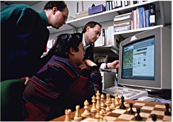 Deep Blue defeats Kasparov